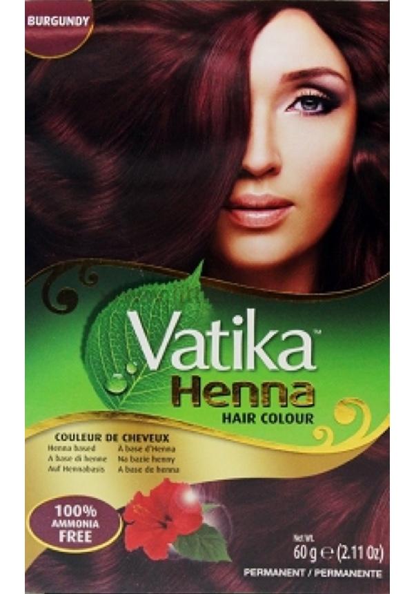 Vatika Henna Hårfärg Brun/Mörkbrun