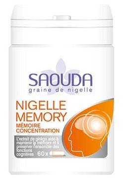 Black Seed Nigelle Memory 60 kaplsar