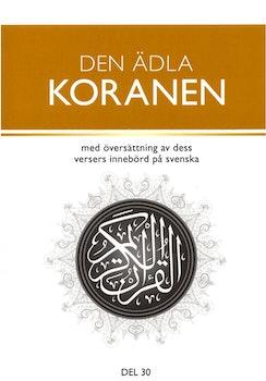 Den ädla Koranen (del 30)