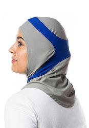Runner Grå & Blå Sport Hijab