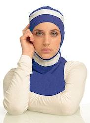 Runner Blå & Vit Sport Hijab