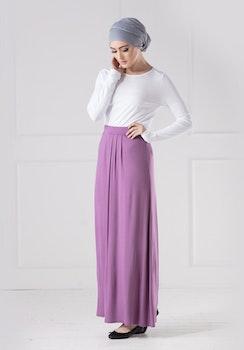 Jersey Kjol Violett