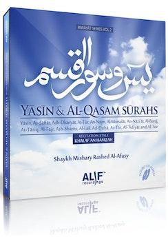 Yasin & Qasam Surahs med Afasy (2 CD)