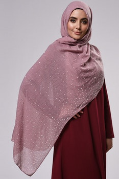 Aisha Sjal Dusty Pink