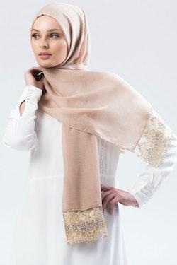 Marwa Glitter Sjal Mullvad