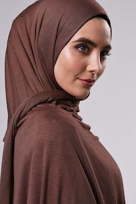 Saba Sjal - Chocolate Brown