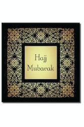 Hajj Mubarak Vykort