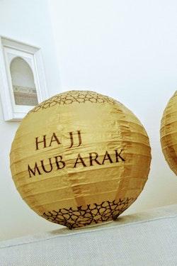 Hajj Mubarak Lykta