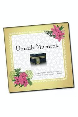 Umrah Mubarak Vykort
