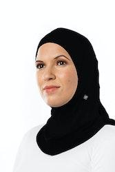 Fitness Sport Hijab Svart