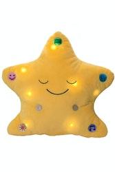 Min Dua-kudde med ljus och ljud Gul