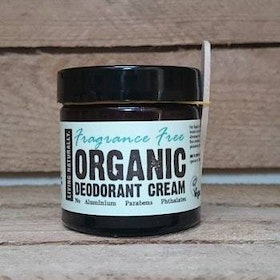ORGANIC DEODORANT CREAM - FRAGRANCE FREE - 60ml