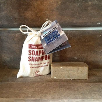 LIVING NATURALLY AYURVEDIC SOAPNUT SCHAMPO BAR 90G