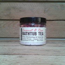 COCONUT & ROSE BATHTUB TEA 250G