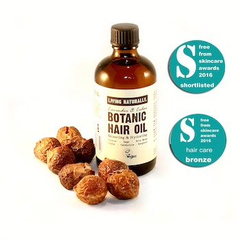 Living Naturally Botanic Hair Oil 100ml