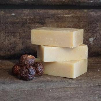 Living Naturally Bay Laurel Castile Soapnut Soap 90G
