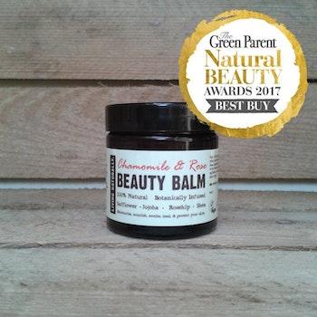 Living naturally Chamomile & Rose Beauty Balm Moisturiser 60ML