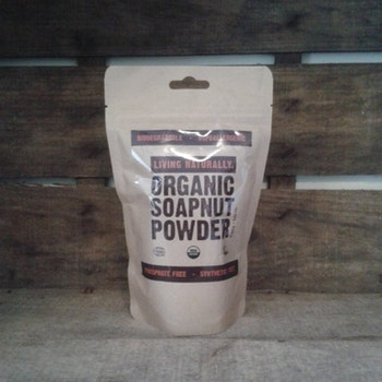 Living Naturally Organic Soapnut Powder 250G