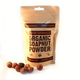 Living Naturally Organic Soapnut Powder 250G