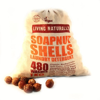 Organic Soapnuts 1 Kilo With Storage Bag - 480 Washes