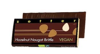 Zotter Hazelnut Brittle - Fairtrade - Vegan