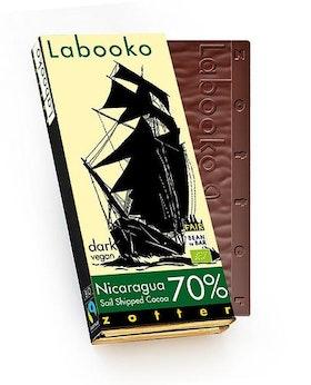 Zotter Nicaragua Sail Shipped - 2 x 35 g 70%