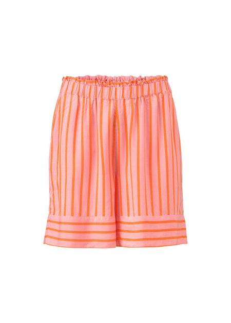 Otis Print Shorts - Flamingo Pink Stripe