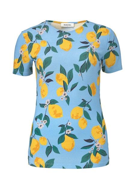 Owl Print T-Shirt - Lemonade