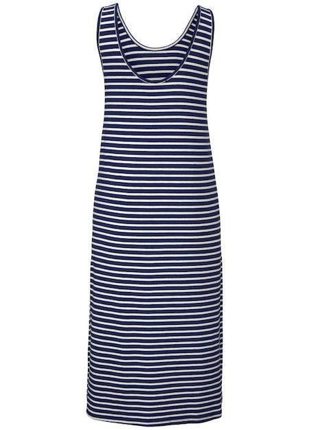 Ounce Dress - Navy/White Stripe