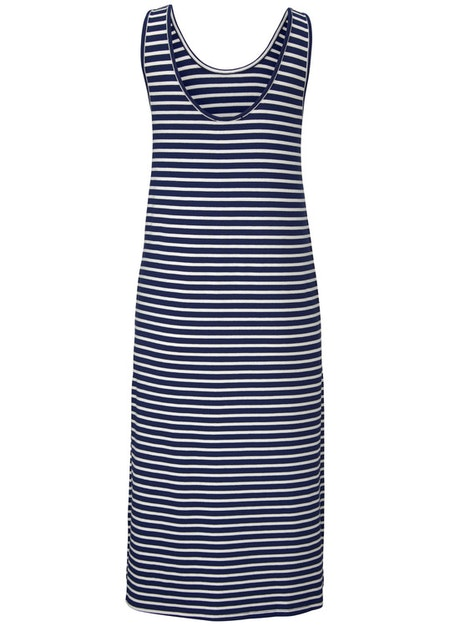 Ounce Dress - Navy/White Stripe
