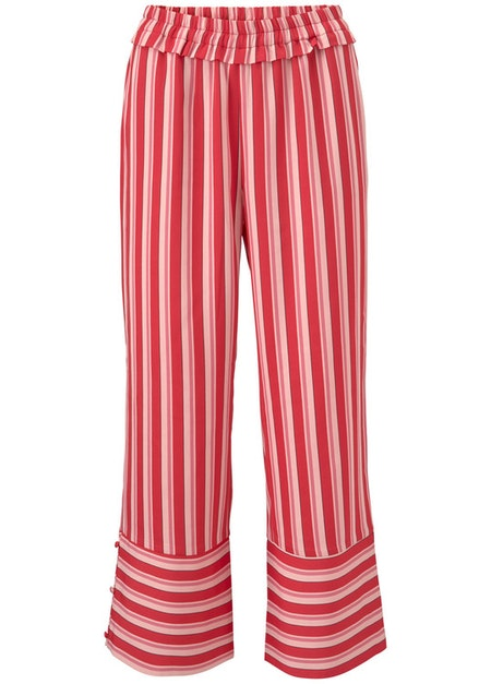 Ora Print Pants - Summer Stripes