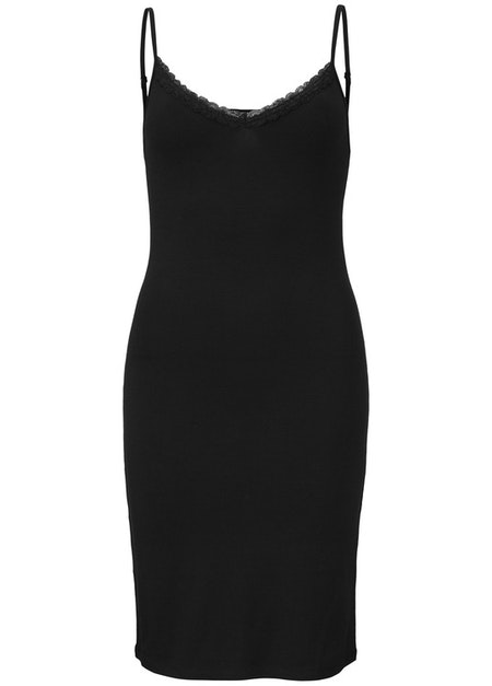 Toy Strap Dress - Black