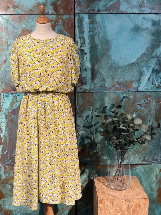 Alpha Long Dress - Yellow