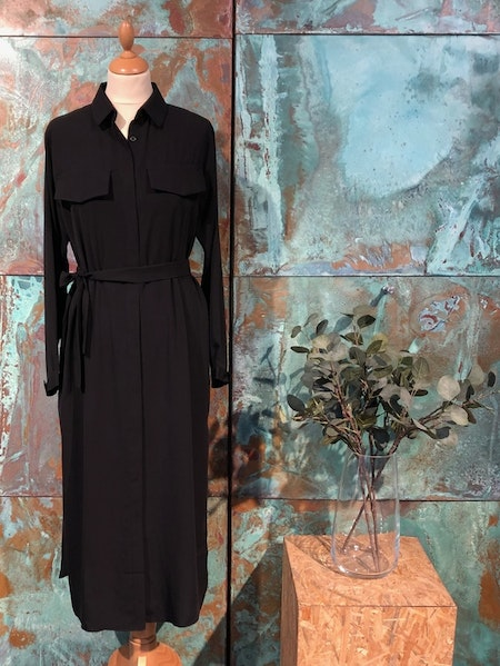 Helen Long Dress - Black