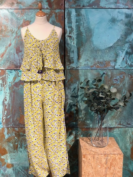 Lila Trousers - Yellow