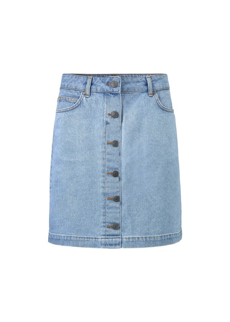 Octave Skirt - Vintage Blue