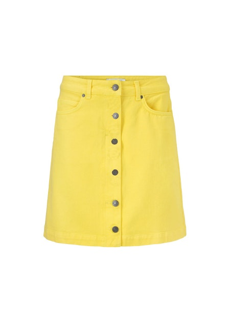 Octave Skirt - Pale Banana
