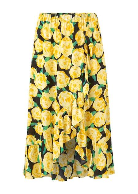 Oriental Print Skirt - Flowerhead