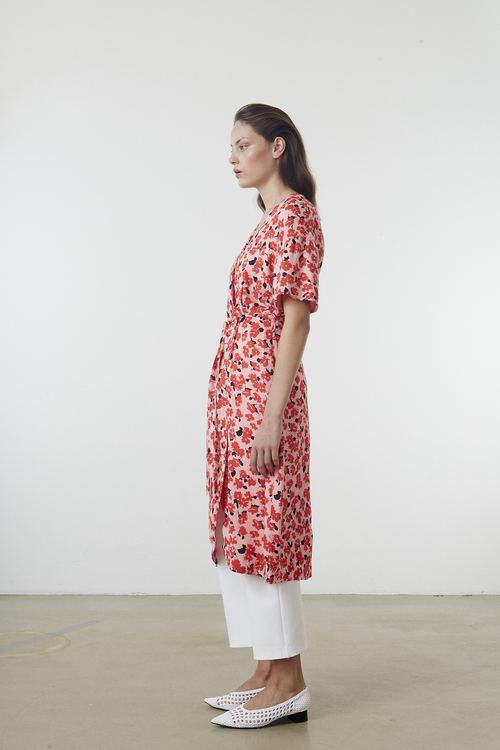 Orion Print Dress - Botanical