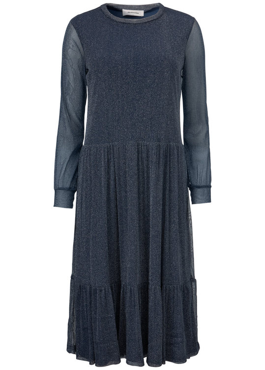 Rebecca Dress - Navy Sky