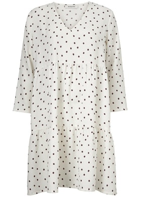Richie print dress - Off White