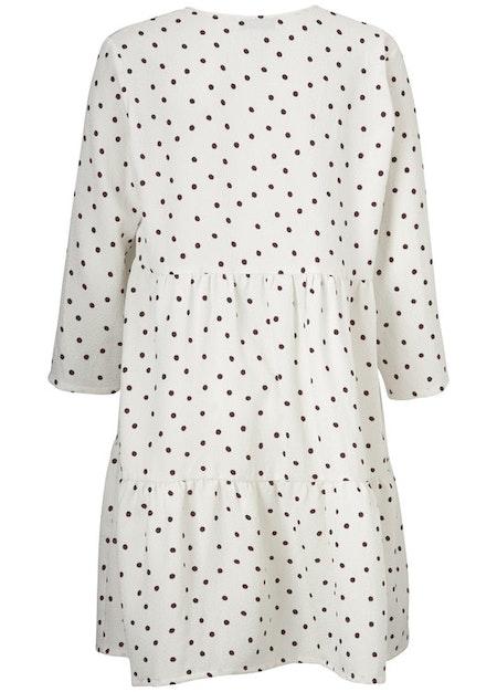 Richie print dress - Off White