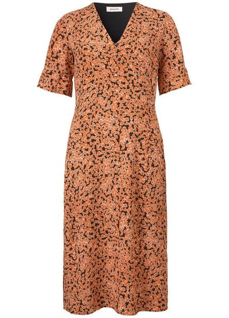 River print dress - Flower Fusion