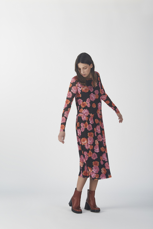 Ray Print Dress - Darcey Rose