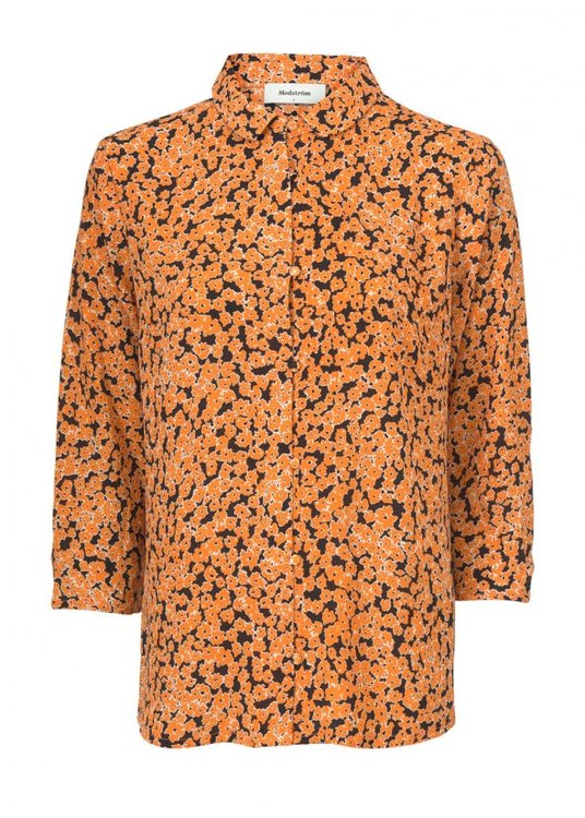 River Print Shirt - Flower Fusion