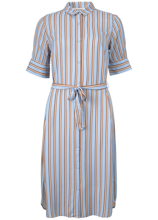 Ricky Dress - Serenity Stripes