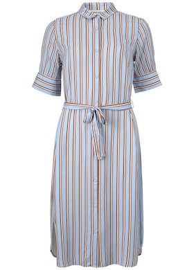 Ricky Dress - Serenity Stripes