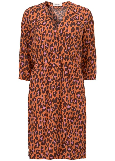 Robbie Print Dress - Colourful Leo