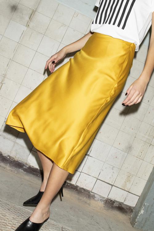Rylee Skirt - Golden Spice
