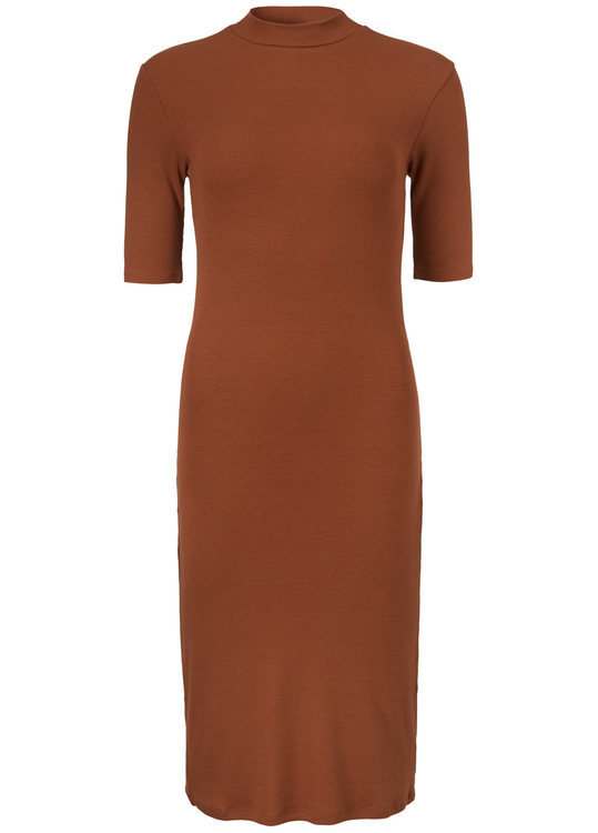 Krown T-Shirt Dress - Brandy Brown